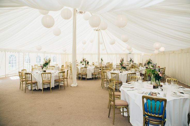 A Summer Wedding in our marquee