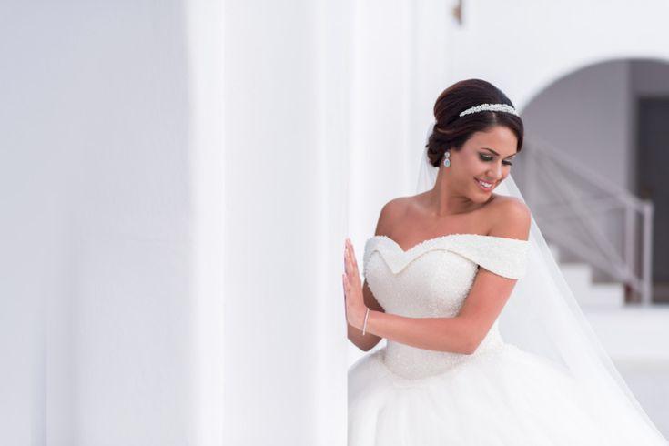 Santorini Bride!