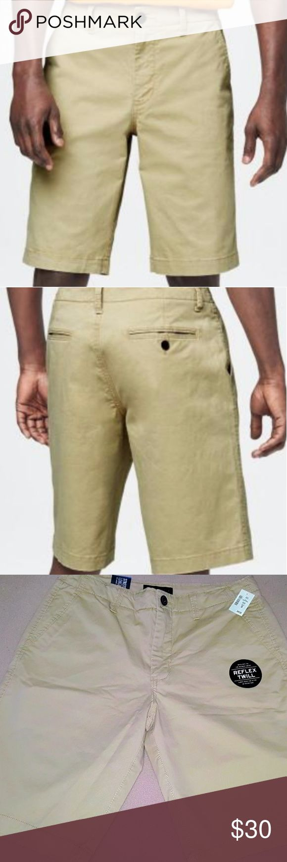 """Aeropostale Longboard (32W) Men's Shorts - NWT Aeropostale - Men's Solid Reflex Longboard Shorts (32w) Brand New W/ Tags  Product Information :  Grab our Solid Reflex Longboard Shorts for a laid-back look that'll take you through the warmer months! The soft fabric is light, stretchy and comfy, and flat pockets add classic appeal.  - Brand : Aeropostale - Size : 32 Waist - Color : Beige - Authentic fit. - Approx. inseam: 11.5""""; Rise: 11"""" - Style: 8968. - Fabric : 97% cotton, 3% spandex…"""