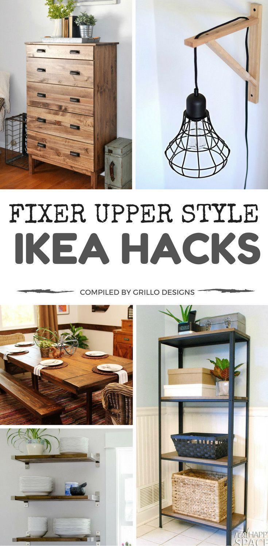 Fix Upper Style IKEA Hacks for a Farmhouse Appeal – #FarmhouseAppeal #one #Fixer # for #Hacks