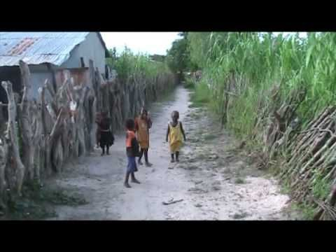 Village Life: A typical village called Lamin Koto near Georgetown, The G...