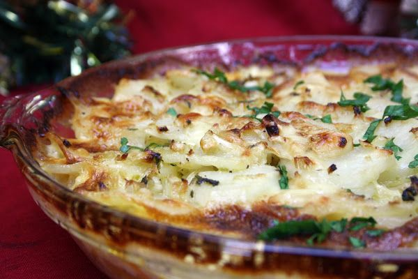 Scalloped Potato and Fennel Gratin | Recipes/Side Dishes | Pinterest