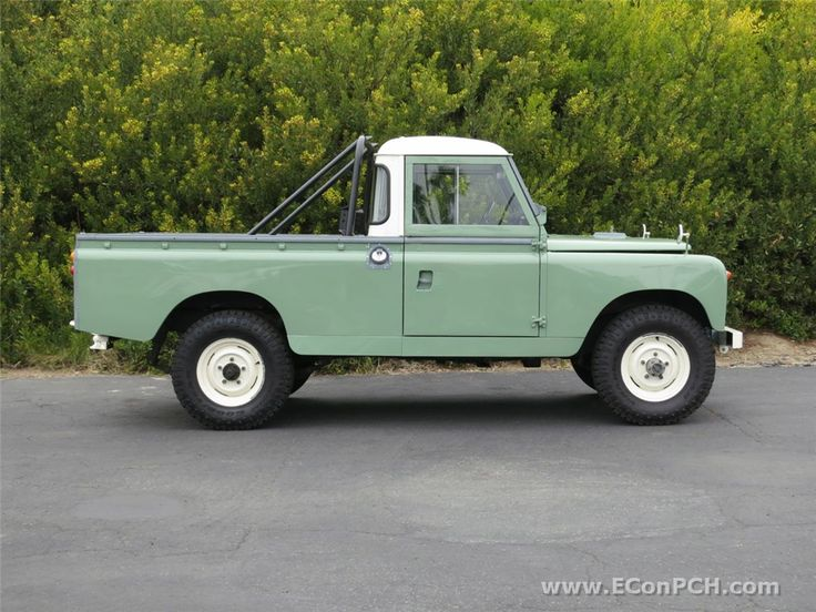 Range Rover Defender >> Land Rover 109 Serie II A Pickup.   Land rover   Pinterest   Land rovers, Range rovers and Land ...