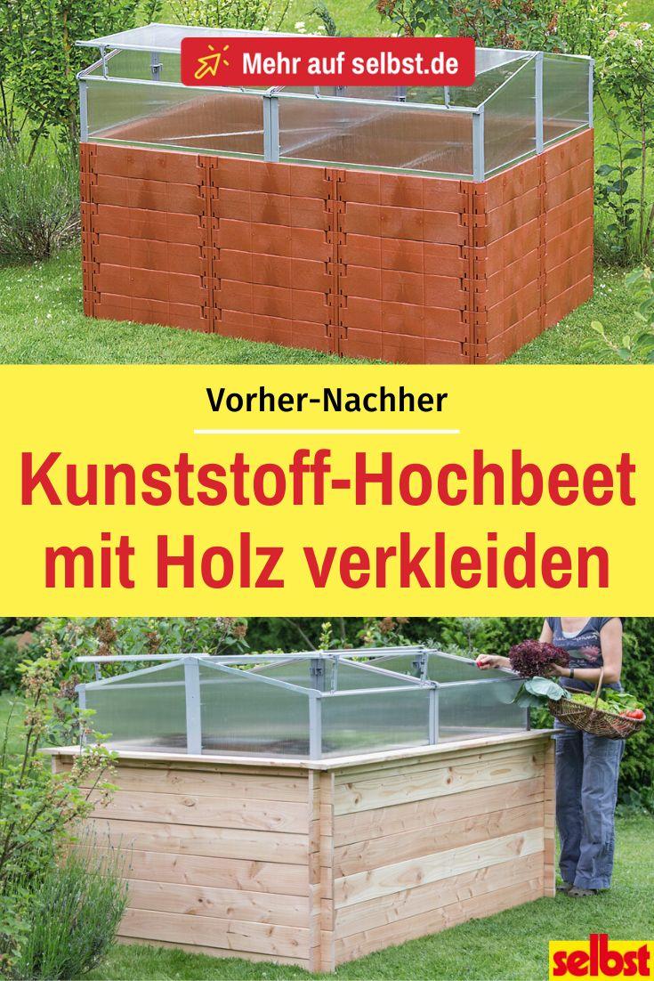 Hochbeet Aus Kunststoff Selbst De In 2020 Hochbeet Gartengestaltung Hochbeet Fruhbeetaufsatz