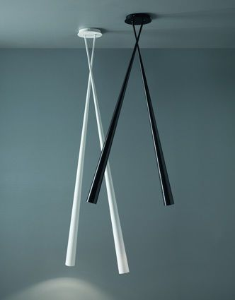 Contemporary ceiling light / fiberglass / LED DRINK BICONO by E.Franzolini & V.G.Jimenez Karboxx