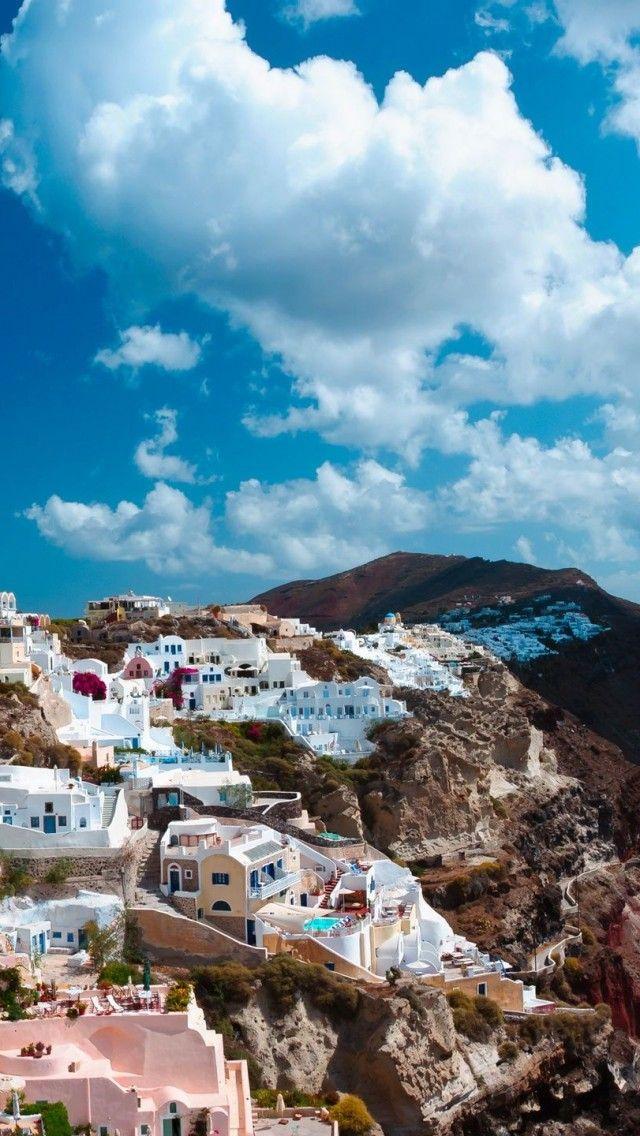 TRAVEL'IN GREECE I On the Imerovigli Caldera, #Santorini, #South_Aegean, #Greece
