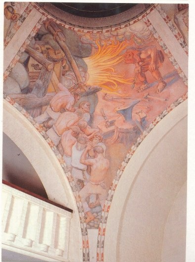 Ilmarinen Kalevala (fresco van Gallen-Kallela)