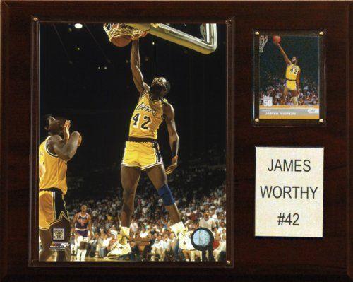 60972cc8c ... James Worthy Los Angeles Lakers Plaque JAMES WORTHY 42 LOS ANGELES  LAKERS ADIDAS NBA THROWBACK SWINGMAN JERSEY ...
