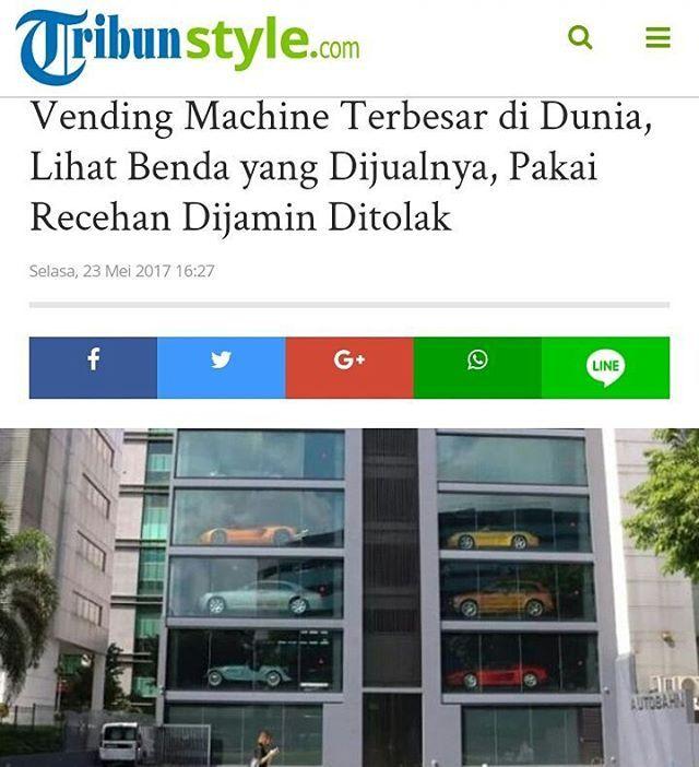 Biasanya kamu pasti menggunakan Vending Machine untuk membeli barang berupa makanan atau minuman.  Kamu pasti menggunakan uang receh atau dalam nominal kecil untuk membelinya.  Namun jika kamu menggunakan uang itu untuk membeli barang yang ada di dalam Vending Machine di Singapura ini pasti ditolak.  Selengkapnya klik link di bio.  #Singapura #news #viral #celebrity #vendingmachine #beautiful #trending #TribunStylecom http://tipsrazzi.com/ipost/1520966496817543586/?code=BUbjvhuFHmi