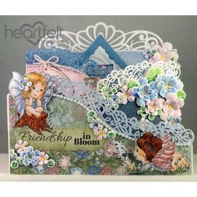 Heartfelt Creations - Fairy Friendship Foldout Card Project