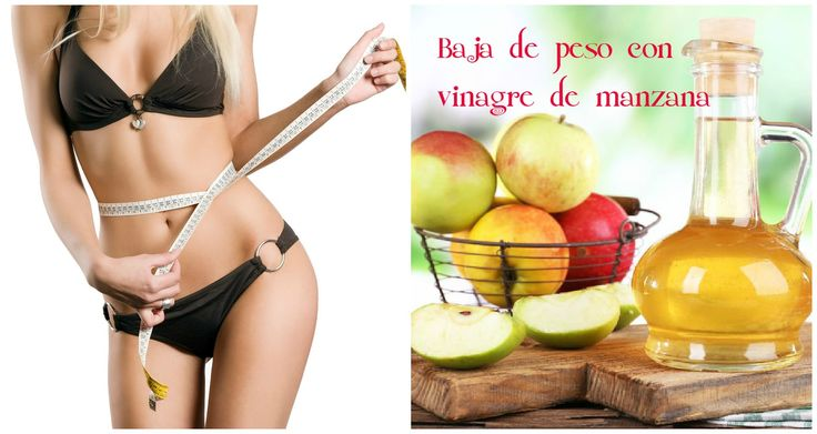 Cómo tomar vinagre de manzana para adelgazar