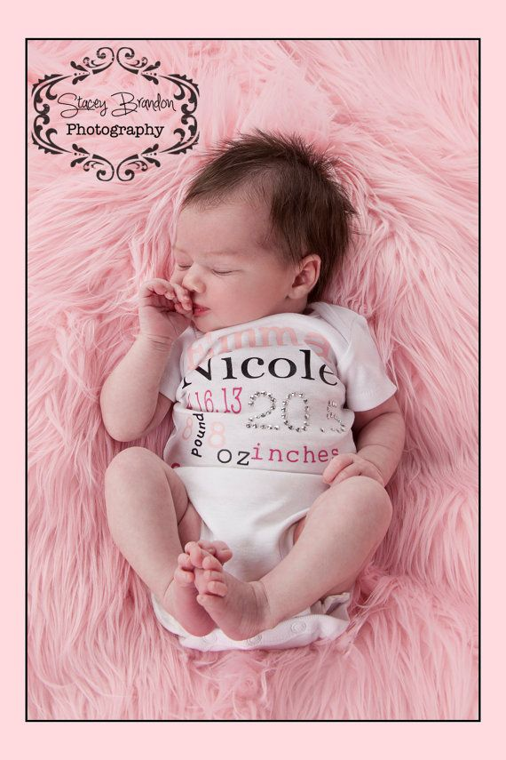 Newborn Princess Birth Facts Custon Bling by TutuSweetinPink, $25.00