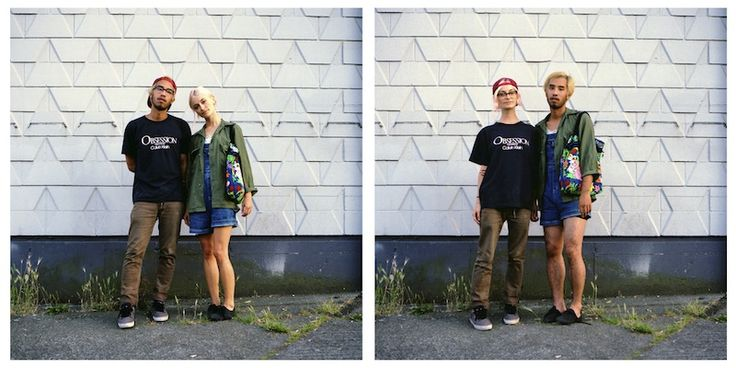 Couples Swap Clothes For Fun Photo Series Twistedsifter – Desenhos