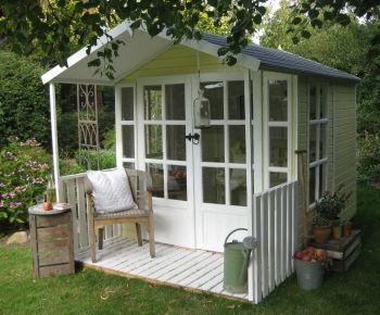 17 best images about garden sheds greenhouses studios on. Black Bedroom Furniture Sets. Home Design Ideas