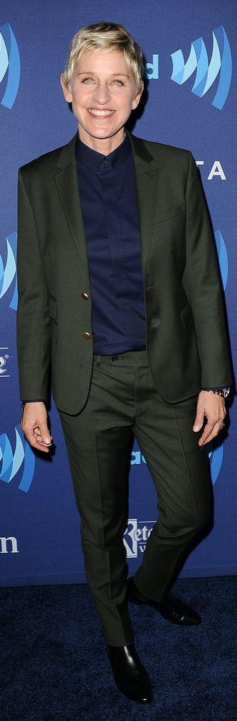 Ellen DeGeneres at the GLAAD Media Awards
