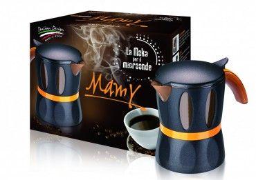 Mamy - Die Mokka / Espresso Maschine für die Mikrowelle Haushalt Haushaltsgeräte Kaffee & Espresso Kaffeemaschienen