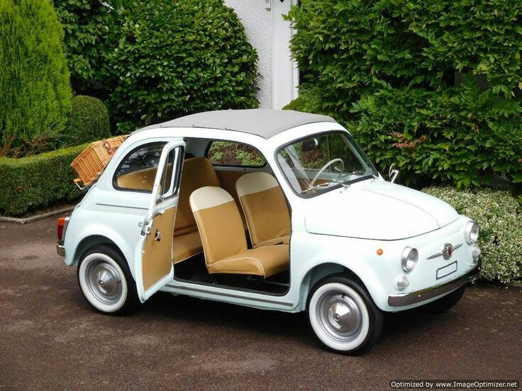 """doyoulikevintage: """"1963 fiat500D """""""