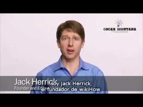 Atrae más tráfico a tu web a través de la experiencia compartida en el siguiente vídeo por Jack Herrick, fundador de #WikiHow,