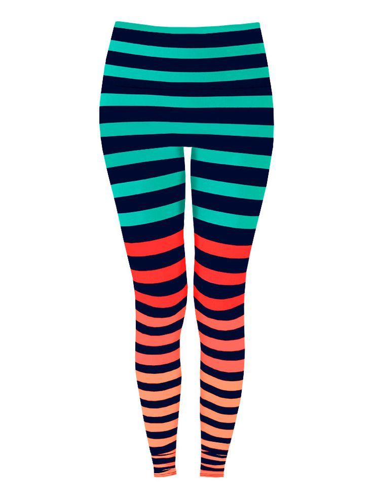 Leggings in 'Trina Stripe' I NEED these