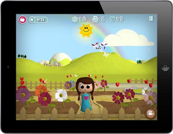 me encanta este juego gardenlab es un app para que los nios aprendan