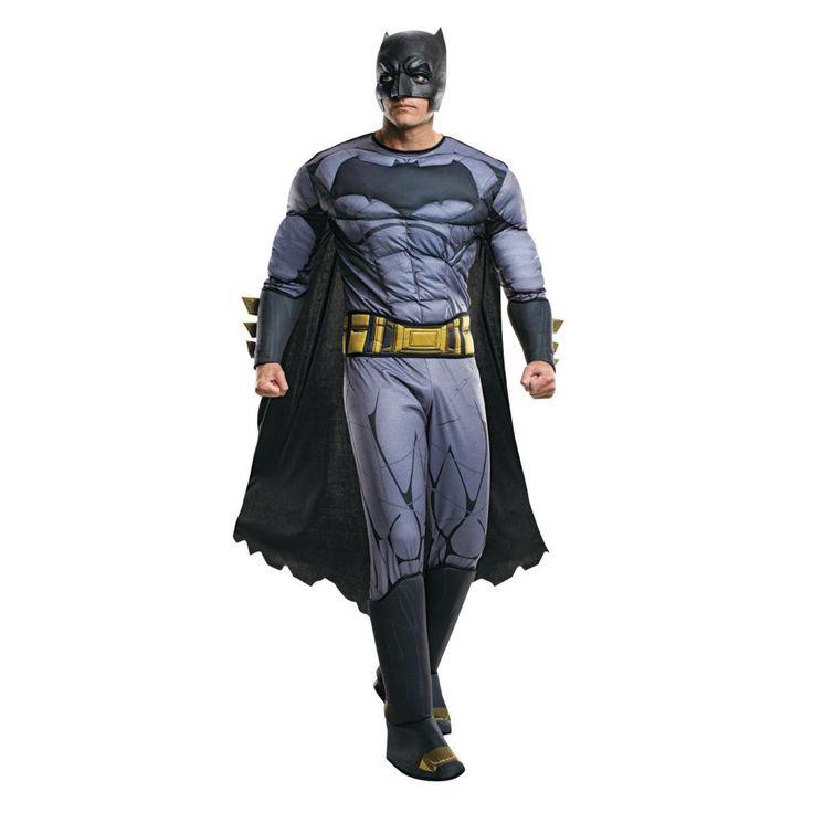 Men's Batman v. Superman: Dawn of Justice(TM) Deluxe Batman Costume - Extra Large
