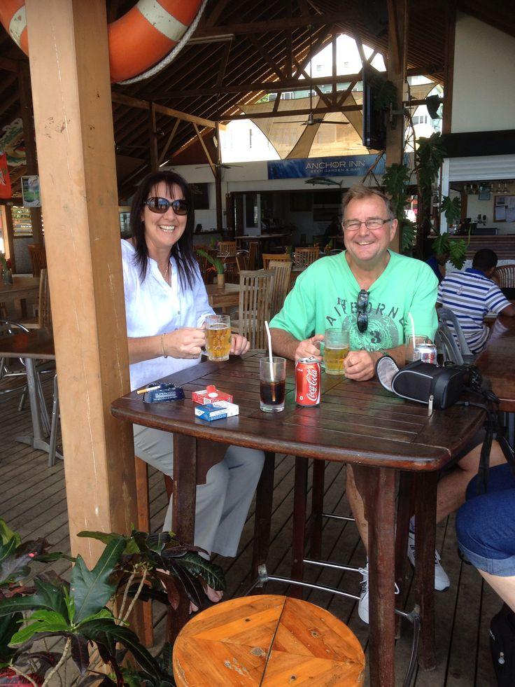 Anchor Inn. Port Villa  #AustraliaDayOnboard