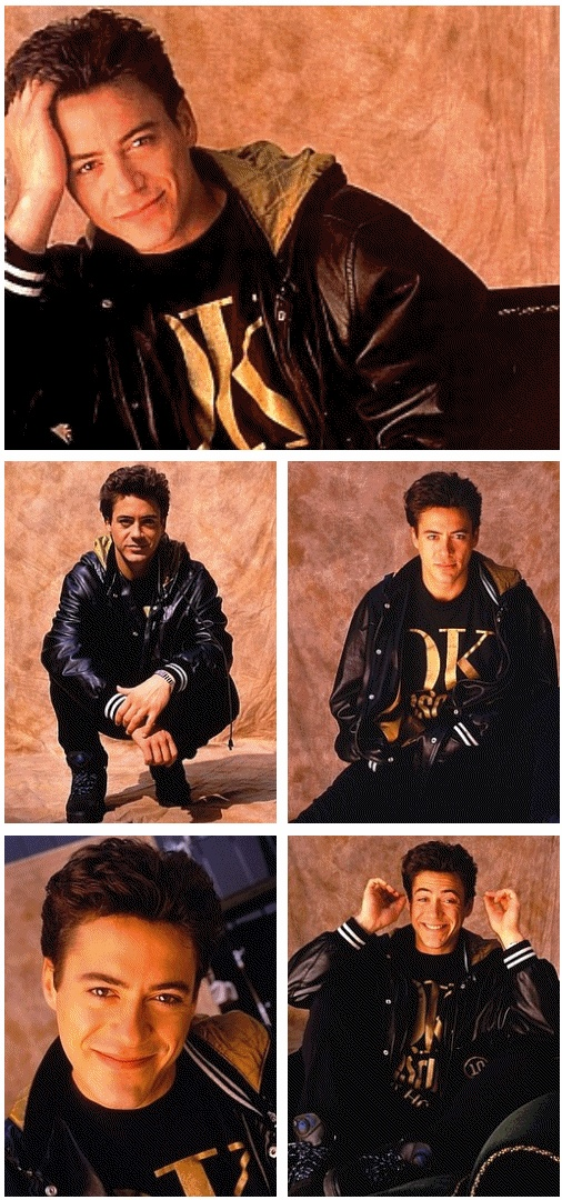 Robert Downey Jr. I swear this man has only ever been the way he looks in iron man/avengers. he looks so different young!