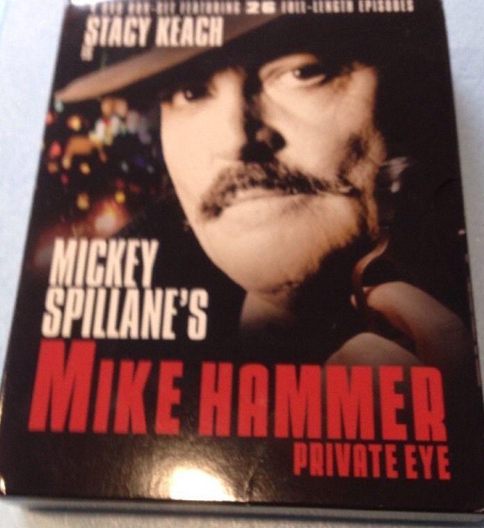 Mickey Spillane's Mike Hammer Private Eye DVD 2005 4 Disc Set 844628050005   eBay