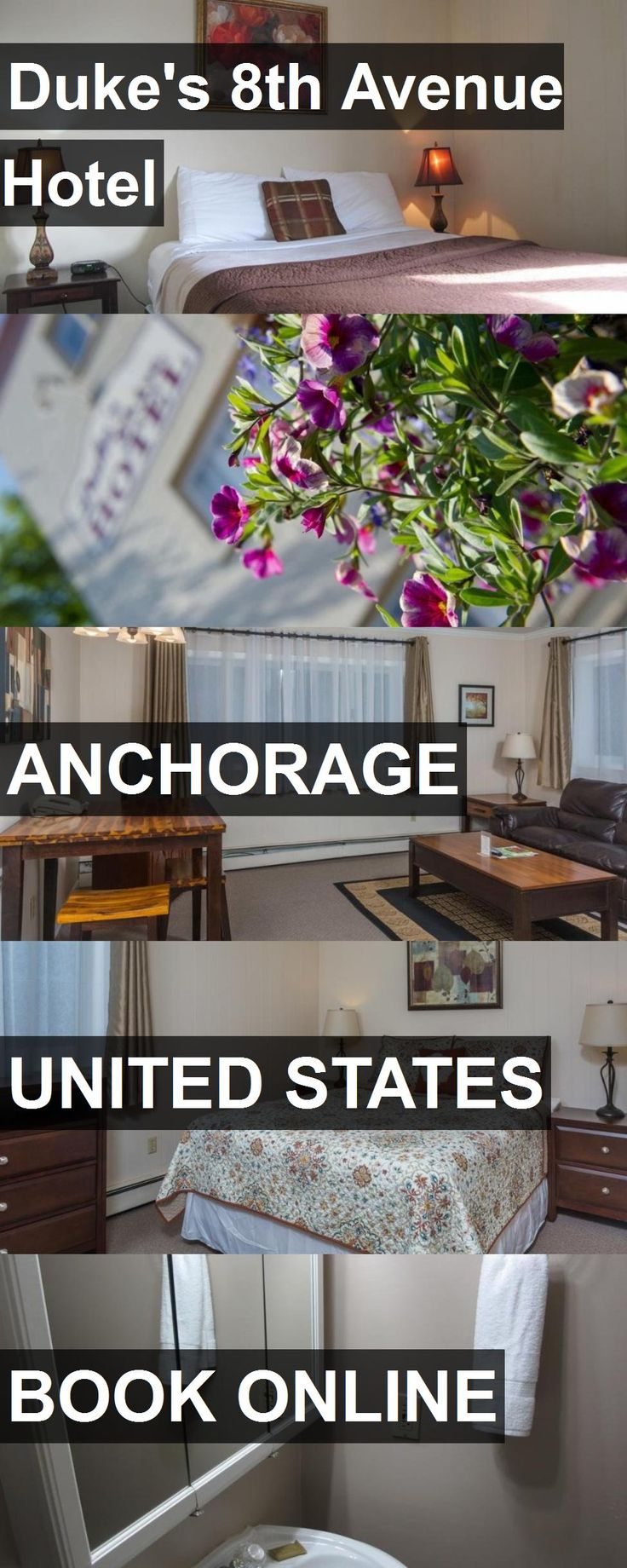Duke's 8th Avenue Hotel in Anchorage, United States. For more information, photos, reviews and best prices please follow the link. #UnitedStates #Anchorage #travel #vacation #hotel