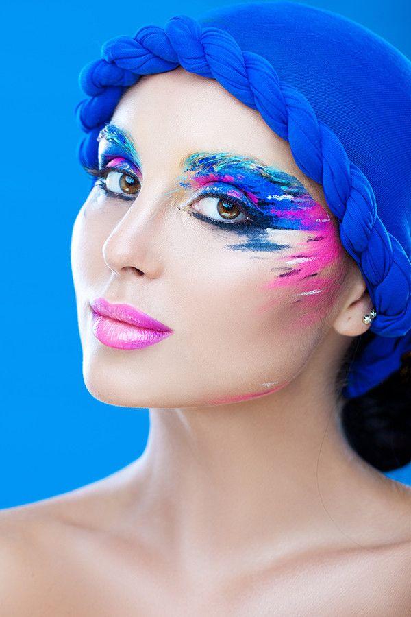Another beautiful piece of makeup art