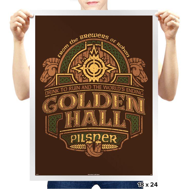 Golden Hall Pilsner - Crestfest - Prints