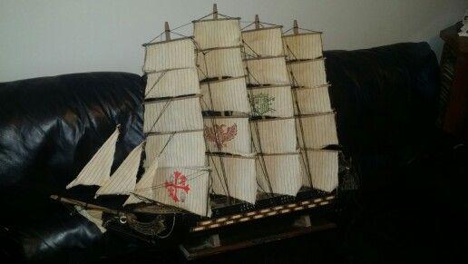 17th century model Ship