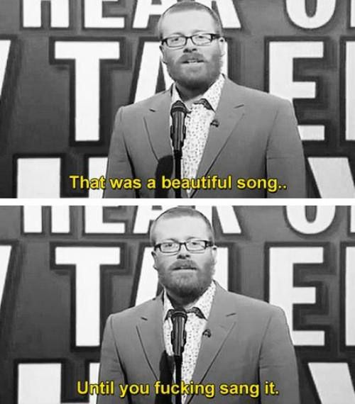 Brutally honest, Frankie Boyle