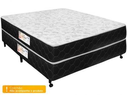 Box para Colchão Casal Castor 138x188cm - Prata Floral com as melhores condições você encontra no Magazine Dalirali. Confira!