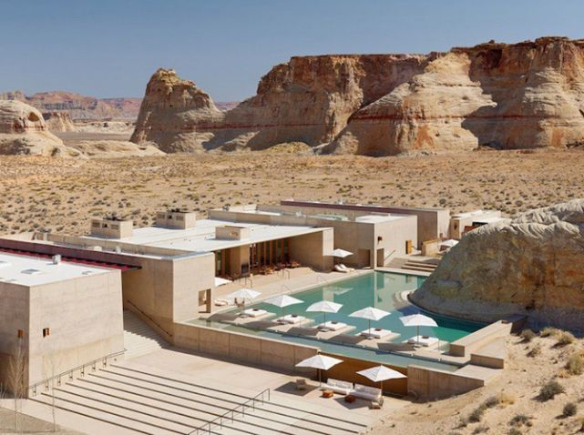 Hotel desert usa amangiri