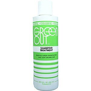 Amazon.com: COLORFUL Green Out Shampoo Treatment 8oz/236ml (Pack of 1): Beauty