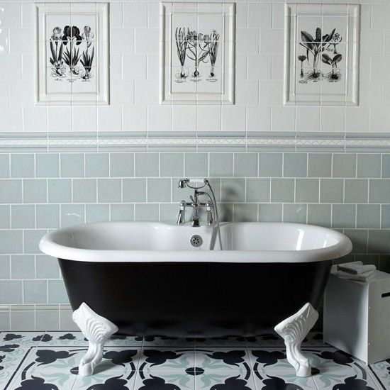 Bathroom Art Nouveau