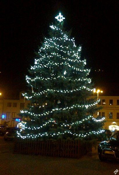 Klatovy - Christmas tree 2013 (1.12.)