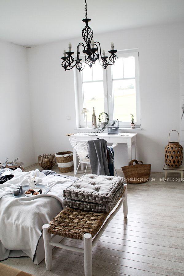 25+ parasta ideaa Bettwäsche Weiß Pinterestissä Bettwäsche - wandfarbe schlafzimmer weisse möbel