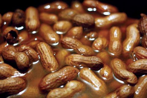 nice CROCK POT CAJUN BOILED PEANUTS