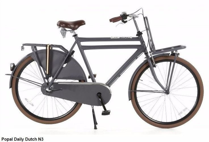 Daily Dutch N3 Large frame City/Town Bike, Hipster Cargo Transporter – Cyclop Bikes
