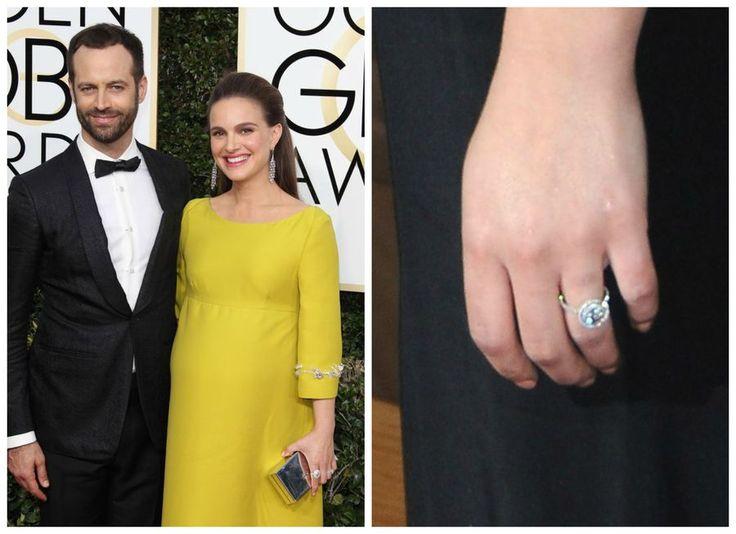 Pierścionek zaręczynowy Natalie Portman
