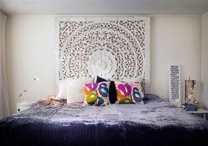 Etkileyici yatak odaları için yatak başı fikirleri