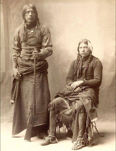Wichita Delegates Fred Carruth and John Tatum, Indian Congress 1898