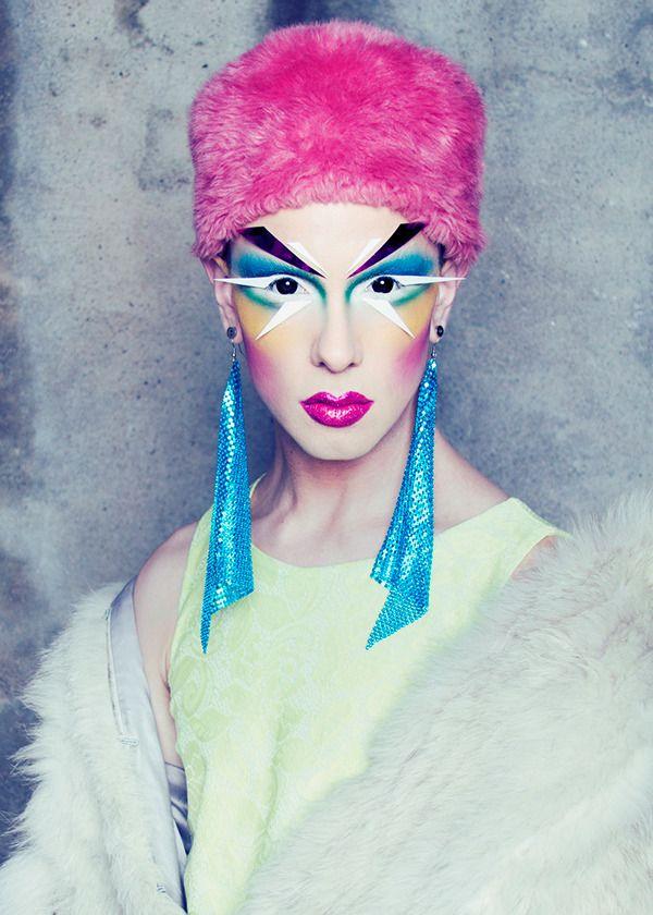 When Makeup Meets Art: Ryan Burke | Beautylish http://www.beautylish.com/a/vxsvs/makeup-artist-ryan-burke