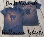 DIY Halloween T-shirts! Only $1.50 each!