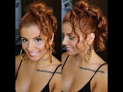 Summer HairStyle and Makeup | Ladyzissima