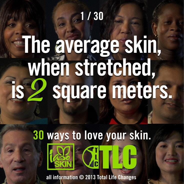30 Ways to Love Your Skin: TLC's informative facts about your skin...