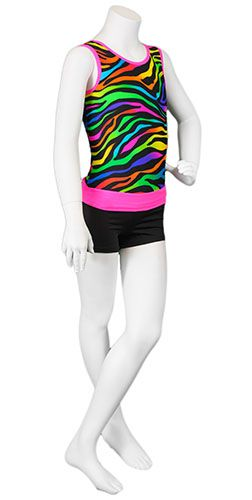Magic Zebra Pink Leotard