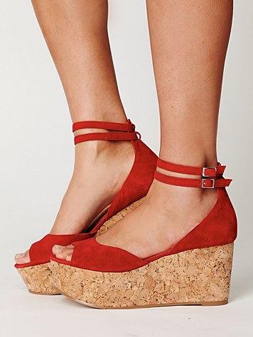 Charles David Alexa Platform: Shoes, Red Platform, Fashion, Style, David Alexa, Free People, Charles David, Alexa Platform